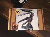 Screwpull Le Creuset Wine Lever Model Corkscrew & Foil Cutter Boxed