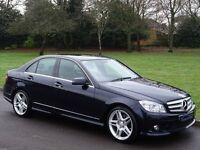 2009 Mercedes-Benz C Class 3.0 C320 CDI Sport 7G-Tronic 4dr - NAVIGATION FULL HEATED LEATHER