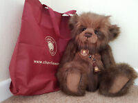 "Charlie Bears Jimbob 19"" Standing Plush with Tags Retired & Hard To Find"