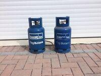 7Kg Calor Gas Bottle 1xfull+1xpart