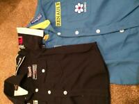 Mercedes and Renault Racing shirts 5-8 yrs