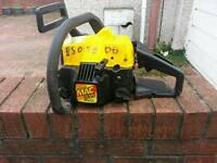 Mcculloch 335 petrol chainsaw no bar and chain