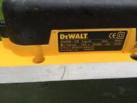 DEWALT D26500 PROFESSIONAL PLANER 240V