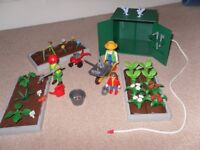 Playmobil Allotment