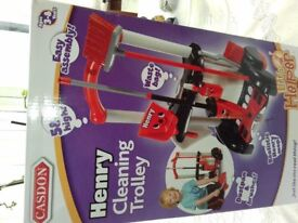 Child's Henry Cleaning Trolley