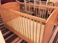 Baby/Junior Cot 2 in 1 High Wycombe