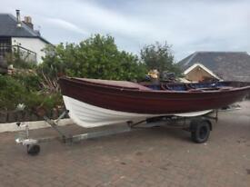 Fishing boat or garden planter