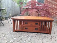 Large Coffee table (possibly teak) for sale