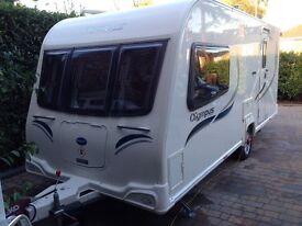 2013 Bailey Olympus 460-2 - 2 berth caravan