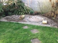 Large quantity of good quality beach garden stones FREE