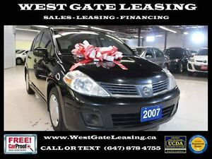 2007 Nissan Versa AUTOMATIC   SAFETY & E-TESTED  