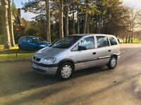 ZAFIRA 2004/1.6 EXCELLENT RUNNER/7 SEATER LOW MILEAGES/NEW BELT/CLEAN IN OUT/7 SEATER FAMILY RUNNER