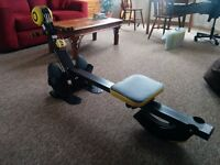 Body Sculpture foldable rower & gym