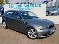 BMW 1 SERIES 2.0 116I SPORT 5d AUTO 121 BHP A GREAT EXAMPLE INS (grey) 2010