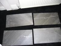 REDUCED - 4 Grey Tiles - Brand New