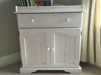 Rushmore Nursery furniture from The Real Cot Company (cotbed, wardrobe, storage unit/changing table)