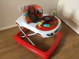 Baby Car Walker, Play Ring & Inflatable Duck Bath