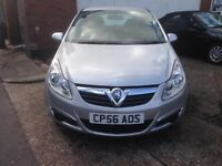Vauxhall Corsa 1.2l 3 door in star silver 66k long mot and recent timing chain svs changed