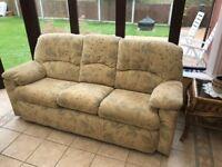 G Plan Three Seater Sofa + Recliner + Armchair