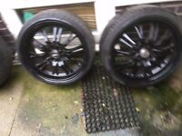 Alloy wheels 17 in from mini one