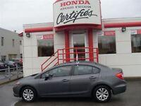 2012 Honda Civic LX CERTIFIE HONDA