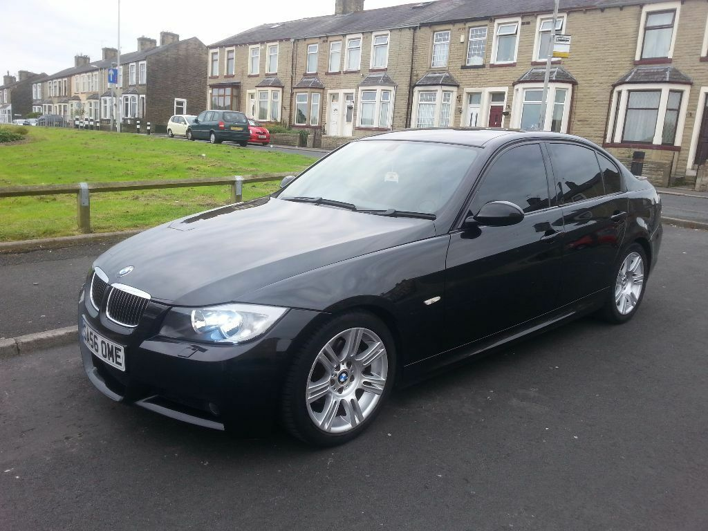 2006 bmw 320d 3 series e90 m sport black full service history 2 keys in nelson lancashire. Black Bedroom Furniture Sets. Home Design Ideas