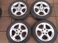 "FORD MONDEO, FOCUS, GALAXY, TRANSIT CONNECT, C-MAX, S-MAX 16"" inch ALLOY WHEELS ( ref 002 )"