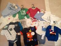 Baby boys new bundle 0-6 months