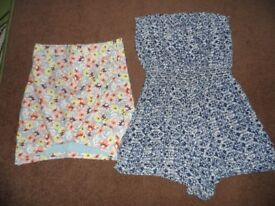 Ladies New Look skirt and play suit