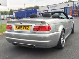 BMW M3 E46 2006 SILVER SMG CONVERTIBLE 2 Owners P/x M5 M6 M3 DCT C63 E55 E63 CLS55 A45 RS4 RS6 RS3