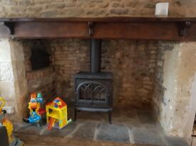 Gas Fire/stove and flue