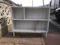 Nice white bookshelf