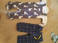 Boys 0-3 months bundle of clothes