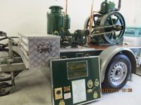 vintage stationary engine and water pump £1950