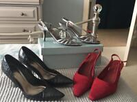 Collection of ladies shoes size6