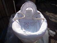 Moses Basket and Stand Brand New