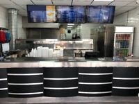 Fast Food Takeaway Fish & Chip Shop Business For Sale - Busy Main Road - Near Old Trafford Stadium