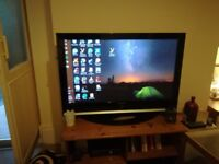 54 inch Samsung TV, £75, cheap because its old and in need of a quick sale