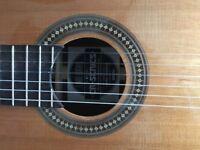Lindo CG29EQ Classical electric guitar