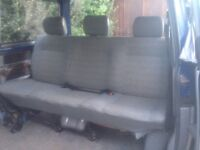 VW T4 Caravelle rear bench seat