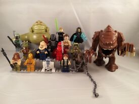 Minifigures + : Star Wars, Marvel , DC , Walking Dead, Game of Thrones ...See Pictures