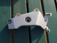 honda hornet 600 cb600 cb 600 footrest mounting plate bracket right