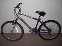 "Aluminium Claud Butler Timber Trail 17.5"" Hardtail Mountain Bike (will deliver)"