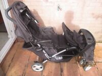 Double Buggy forsale - Graco