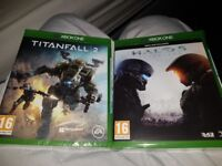 3 games Xbox one games brand new packed 3