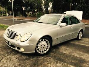 Mercedes-Benz E500 Luxury Sat NAV GPS DVD Sunroof All Options A1 Sutherland Sutherland Area Preview