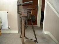 """The Gem"" treadle fret saw"
