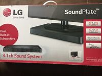 Lgsound plate. Never been used.