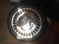 Harley ABS Rims and Tires (600km on tires)