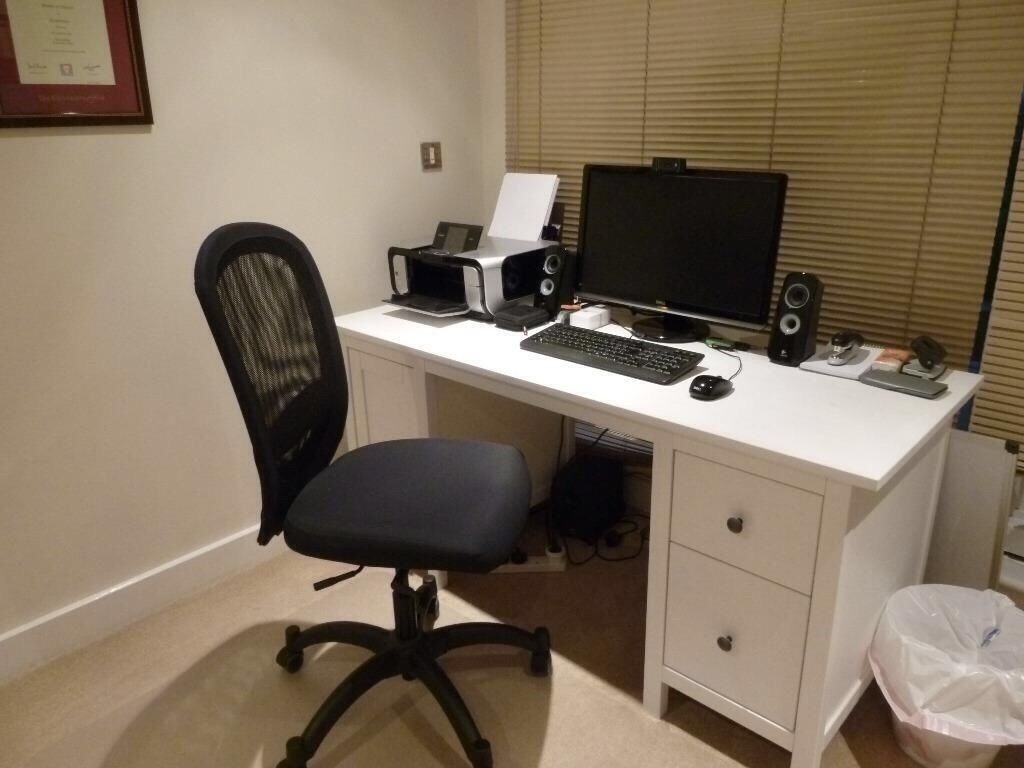 Ikea Hemnes Desk White Stain In Holloway London Gumtree